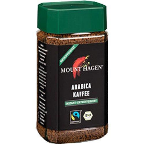 Mount Hagen Mount Hagen Instantkaffee, entkoffeiniert (100 g) - Bio (Instant-kaffee Natürliche)