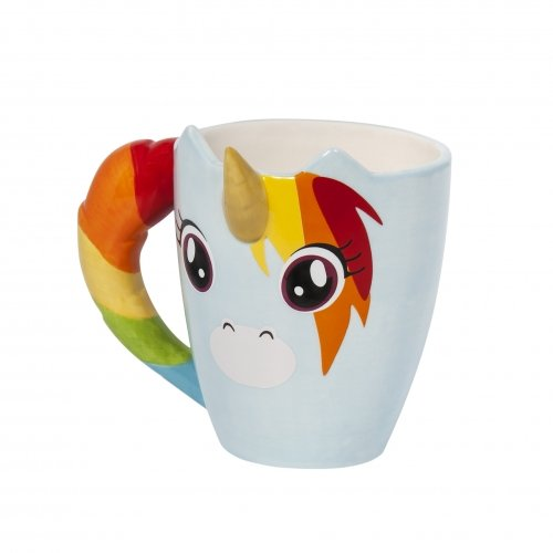 Thumbs-Up-UNIMUG-Unicorn-Mug-Tasse-Licorne-Cramique-Multicolore-11-x-105-x-11-cm