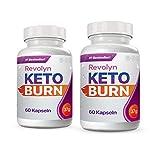 Revolyn Keto Burn - Diätpille für effektiven Gewichtsverlust | Jetzt das 2 Flaschen-Paket mit Rabatt kaufen (2 Flaschen)