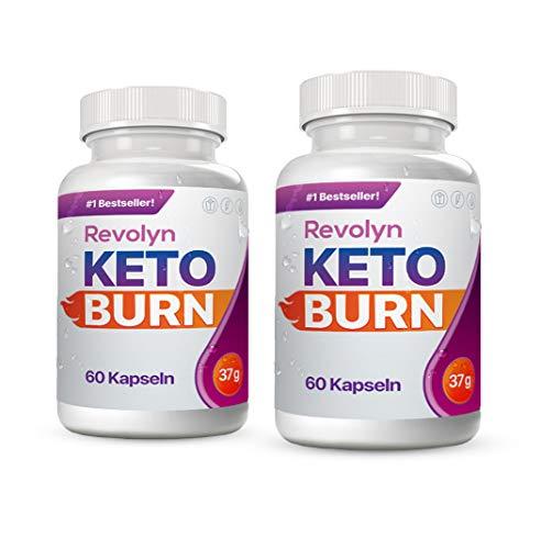 Revolyn Keto Burn - Diätpille für effektiven Gewichtsverlust (2 Flaschen) | Lieferung nach DE-AT nur 3 Tage (mit DPD)