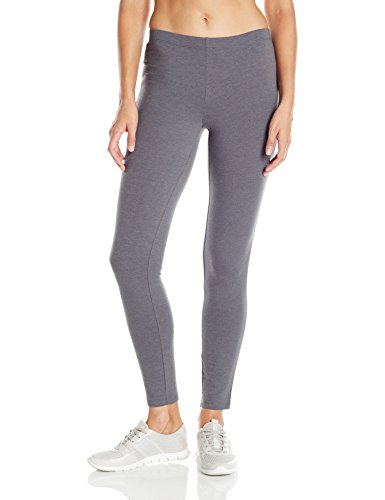 Hanes Damen Stretch Jersey Legging - grau - XX-Large (Hanes Baumwoll-leggings)