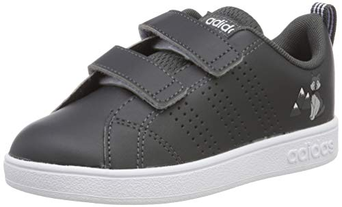 adidas Unisex Baby VS ADV CL CMF INF Sneaker, Grau (Grey/Footwear White/Aero Blue 0), 27 EU