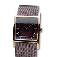 BERING Reloj Analógico para Mujer de Cuarzo con Correa en Acero Inoxidable 10426-265-S de BERING