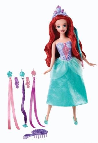 Princesas Disney - Muñeca Rapunzel con peinados de joyas (Mattel BDJ52)