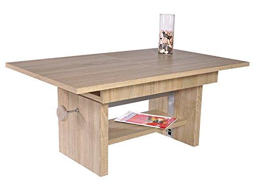 """Couchtisch Wohnzimmertisch Sofatisch Beistelltisch Kaffeetisch Tisch """"Bruni I"""" Sonoma-Eiche"""