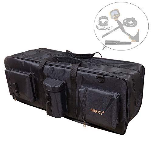 Shrxy Bolsa de Transporte para detectores de Metales y Lona, portátil, Impermeable, con Doble Capa...