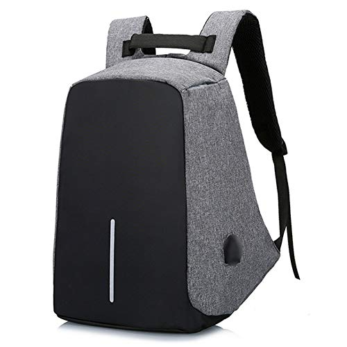 9b95db870683 Syfinee Anti Theft Laptop Backpack Waterproof Back Zipper with USB Charging  Port Large Travel Bag