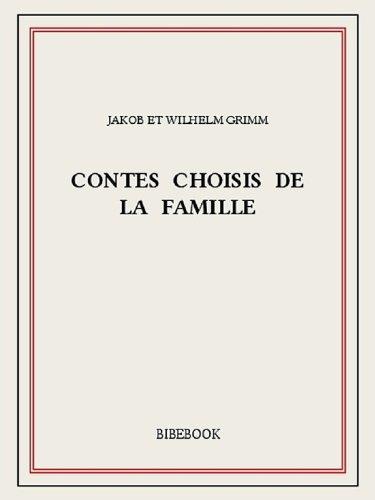 Livres Contes choisis de la famille pdf