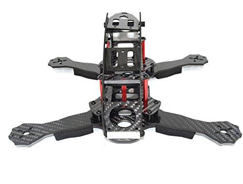 LHI FPV Mini Robocat Karbon 270 4-AchseQuadrokopter Rennkopter rennen Kit ARF+ CC3D Flugcontroller + MT2204 2300KV Motor + Simonk 12A ESC + 6030 CF Propeller Prop - 7