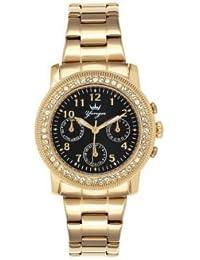 Reloj Yonger pour elle mujer negro–DMP 1632/01
