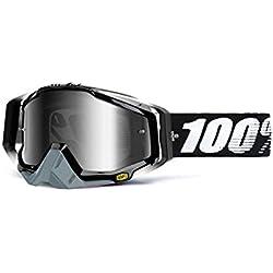100% Racecraft Masque de VTT Mixte Adulte, Noir