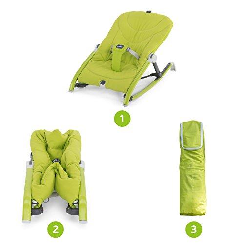Chicco Modelo Pocket Relax Hamaca Bebe verde - 7