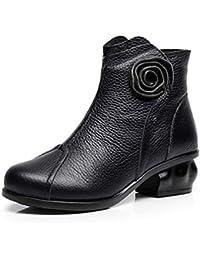 Amazon es 41 Botas Zapatos Flores Para Mujer Y ffwq6rC 5465698cf8e
