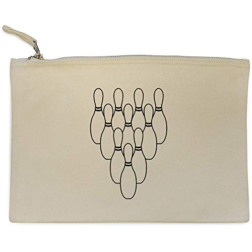 Azeeda 'Bowling Kegel' Clutch / Makeup-Fall (CL00006407)