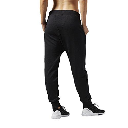 Reebok Damen Trainingshose Les Mills French Terry Pants Black