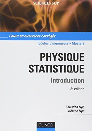 Physique statistique - 3me dition