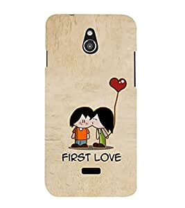 Fuson Designer Back Case Cover for InFocus M2 (Love Love Hearts Infactuation Togather In Relationship)