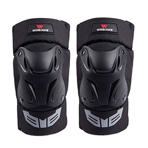 LSJZS 1 para Radfahren Kniebandage Fahrrad MTB Fahrrad Motorrad Reiten Knie Unterstützung Schutzpolster Wachen Outdoor Sports Radfahren Knieschutz Gear