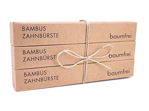 Bambus Zahnbürste von baumfrei