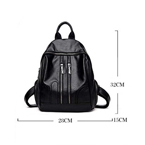 Donne Borsa A Tracolla Moda Messenger Bag Black