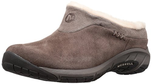 Merrell Women's Encore Ice Clog,Merrell Stone Leather,7.5