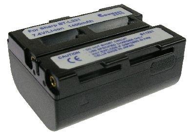 Goeke Batterien Connect 3000 Kamera Akku Li-Ion 1500 mAh 7.4 V für SHARP VL - DC 3