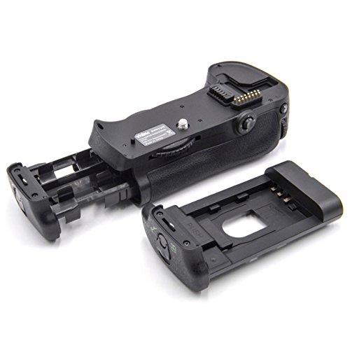 vhbw battery grip inkl. rotellina di selezione per fotocamera a specchio reflex DSLR come Nikon MB-D10