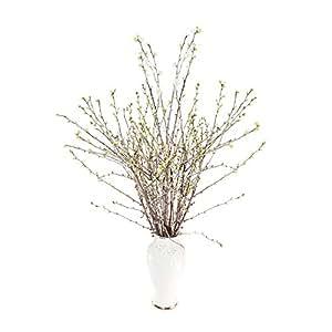 Bund mit Kirschzweigen (20 echte Zweige ca. 60-80cm): Frühlings-Deko | Kirschbund-Deko für Bodenvase | Oster-Zweige