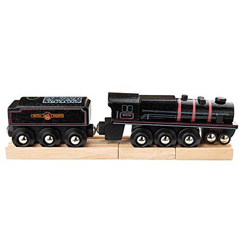 Big Jigs bigjigs - 5 Locomotive, Couleur Noir (bibjt454)