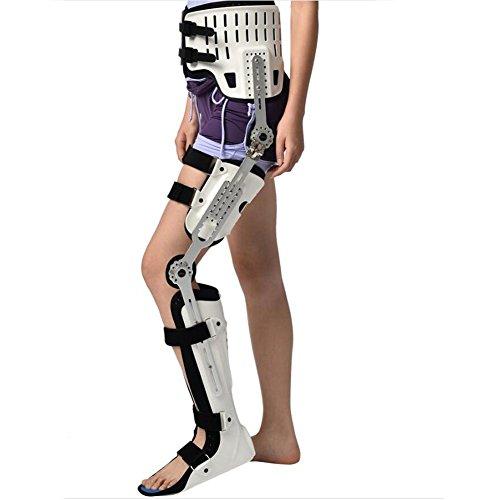 Wei-d Befestigung Hard Knee Knöchel Füße Orthese Oberschenkel Stent Knie Gelenke Knöchel Befestigung Stent Ferse Hüfte Gelenk Befestigung , White