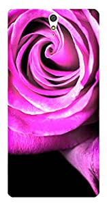 TrilMil Printed Designer Mobile Case Back Cover For Sony Xperia C5