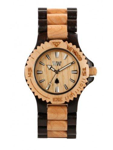 WeWOOD DATE-BLACK/BEIGE Hombres Relojes