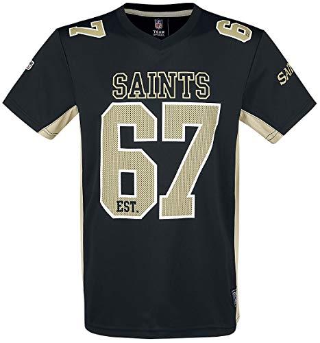 NFL New Orleans Saints T-Shirt schwarz XXL