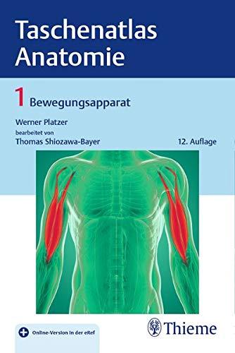 Taschenatlas Anatomie 01: Bewegungsapparat
