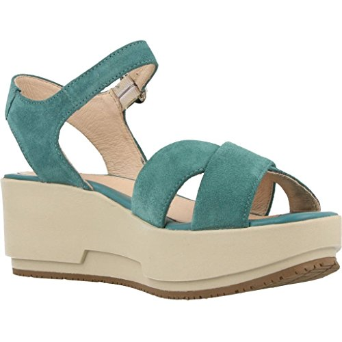 Sandales, couleur Blue , marque STONEFLY, modèle Sandales STONEFLY KETTY 4 Blue Verde