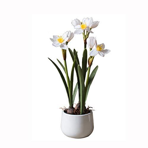 Nosterappou Simulation von Narzissenblumentöpfen, Topfpflanzen, Dekorativen Tischdekorationen, Geschenken