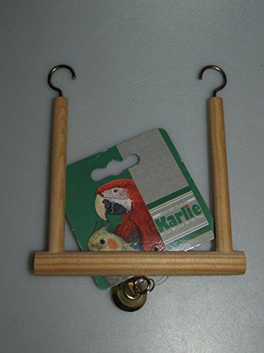KARLIE Spielzeug SCHAUKEL Holz für Vögel