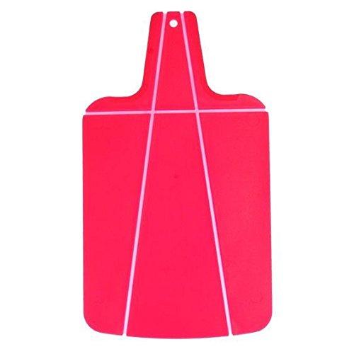 Kitchencraft Colourworks pieghevole taglieri Chop a pot–rosa
