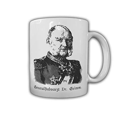 Generalstabsarzt Dr Grimm Preußen Mediziner Militärarzt Sanitäter Tasse #29156