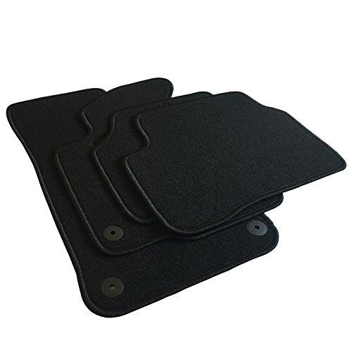EUGAD AM7181p Autoteppich Auto Fußmatten Matten schwarz
