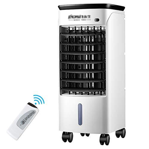 Preisvergleich Produktbild LIYFF-Kühlung Klimaanlage Ventilator Klimaanlage Fan Single Fernbedienung Lüfter Haushalt Haushaltsluftbefeuchter Energiesparende Portable Air Coole