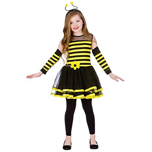Bumblebee (8-10) Girls Fancy Dress Animal - Busy Bee Kostüm