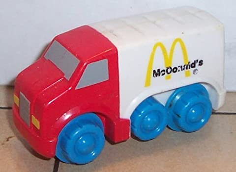 Mcdonalds 3 and Under Happy Meal Toy #7 Fisher Price Delivery Truck by (3 Happy Meal)