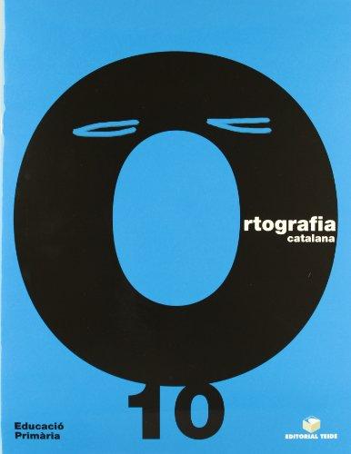 Ortografía Catalana. Quadern 10 - 9788430708574