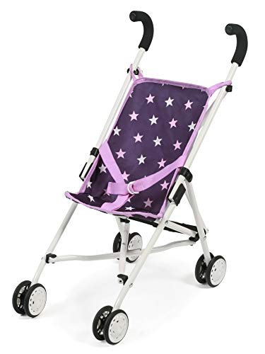 Bayer Chic 2000 601 71 Mini Roma, Puppen-Buggy, Stars lila