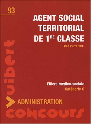 Concours Agent social territorial de 1re classe - Tout-en-un - Catégorie C