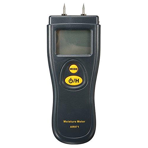 Tutoy Digital Humedad Medidor Detector Madera Húmeda Madera Ladrillo Humedad Lcd Tester