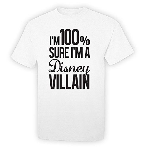 pop-threads-mens-im-100-sure-im-a-disney-villain-white-m-short-sleeve-t-shirt