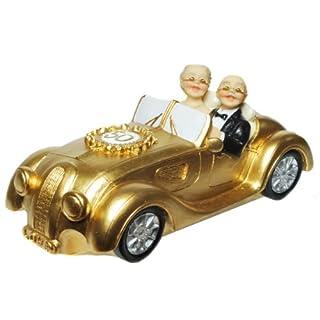 Spardose Gold Hochzeitspaar Sparschwein Sparbüchse goldene Hochzeit