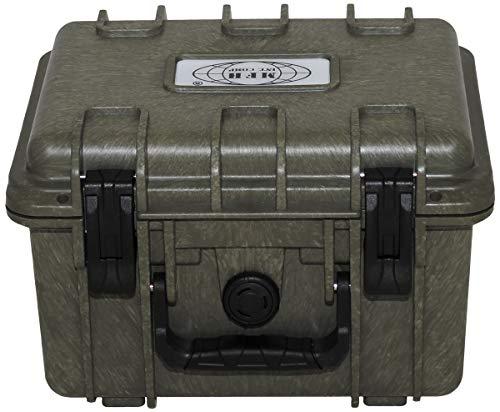 MFH Box, Kunststoff, wasserdicht, oliv, 26,7 x 23,9 x 17,6 cm -